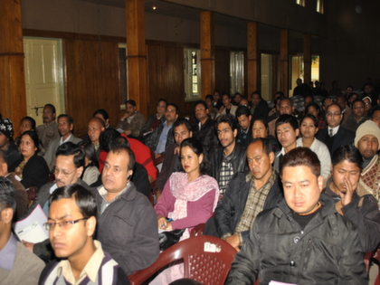 Workshop at Sri Aurobindo auditorium, Shillong, Meghalaya