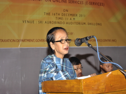 Workshop on e-services