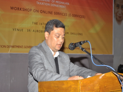 Workshop at Sri Aurobindo auditorium, Shillong